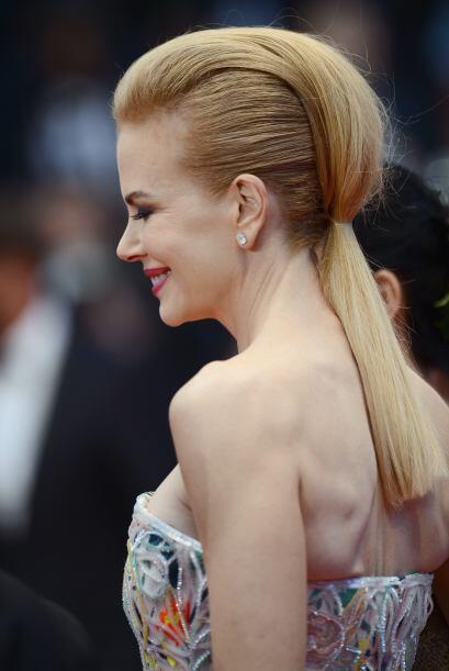 La que robó cámara con sus 'looks' fue Nicole Kidman, a quien la vimos c...