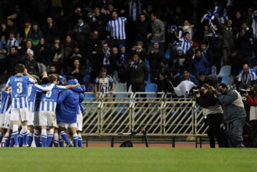 La Real Sociedad festejaba como si hubiese ganado la Liga. El triunfo, a...