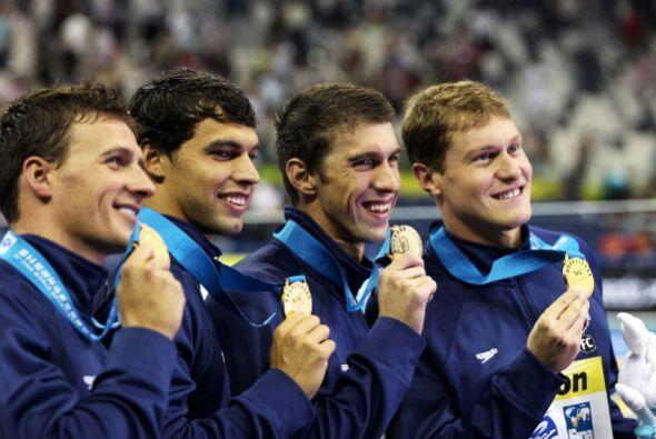 Esta es la cuarta medalla de oro para Ryan Lochte, quien ha brillado en...