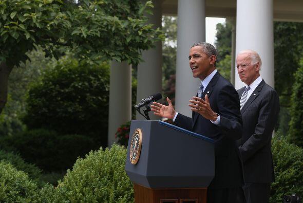 30 de junio. El presidente de EEUU, Barack Obama, anunció que tomará acc...