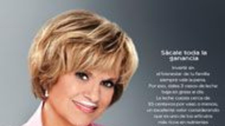 La experta financiera, Julie Stav se unió a la campaña de got milk? para...