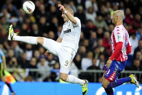 Ya en la segunda mitad, el Madrid no lograba irse adelante en el resultado.