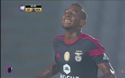 Benfica venció a Vitória de Setúbal por 5-0