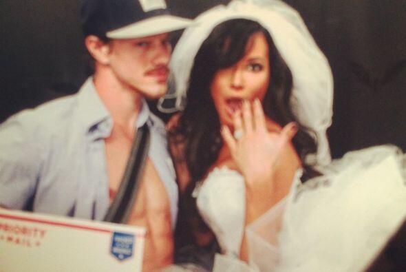 """La actriz de """"Glee"""" dio el sí el 19 de julio de este a&..."""