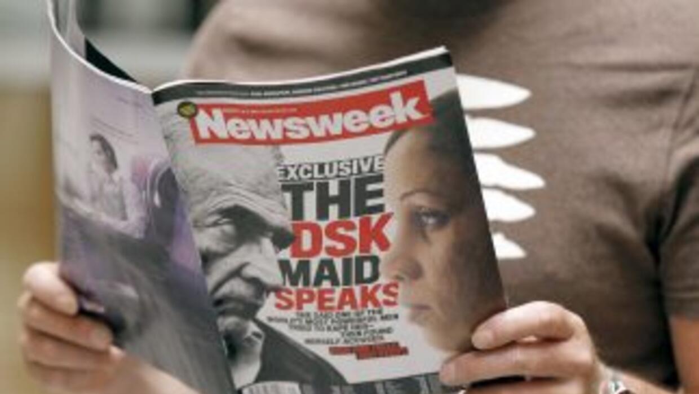 Durante la primera mitad de 2012 las ventas de la revista Newsweek apena...