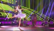 Trenecito de baile para las niña bailarinas en Pequeños Gigantes 2