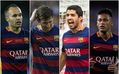 """Sin Messi, Barça necesita un paso adelante de su """"nuevo tridente"""""""