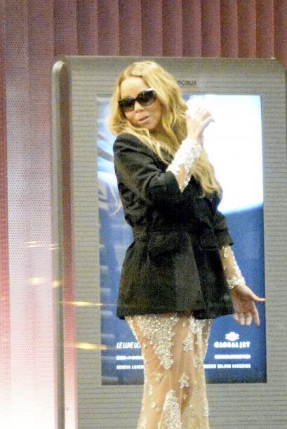 Encontramos a Mariah Carey muy elegante. Aquí los videos m&aacute...