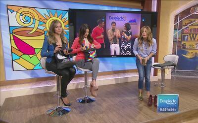 Entrega inmediata: Satcha, Ana y Karla recibieron unos zapatos a su medi...