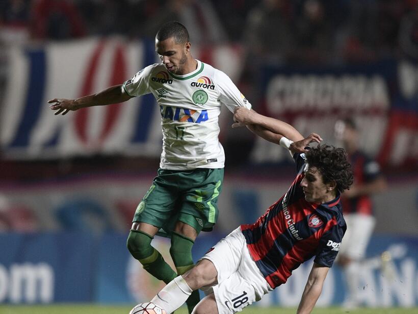 Tiaguinho, era un joven atacante de 22 años de edad que había pasado por...