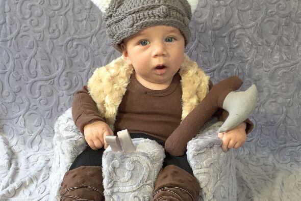 Regresando en el tiempo, Noah también es un Vikingo.