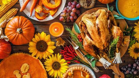 El estado más verde en 'Thanksgiving' es Washington y el menos ec...