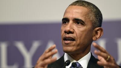 """Obama: Enviar tropas contra ISIS """"sería un error"""""""