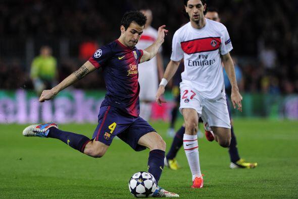 El Barcelona recibía en el Camp Nou el duelo de vuelta de los cuartos de...