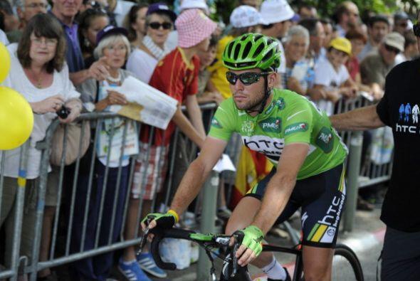 Mark Cavendish tuvo un gran desempeño en la décimotercera...