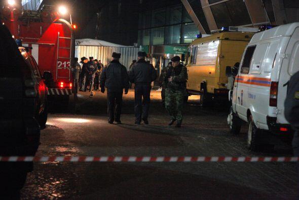 Algunos de los heridos fueron alcanzados por metralla porque el explosiv...