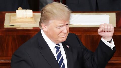 Trump inicia su discurso hablando de la renovación del espíritu estadoun...