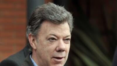 """El presidente de Colombia, Juan Manuel Santos, hizo un balance """"positivo..."""