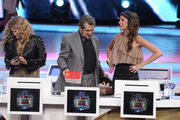En esta emisión le tenían una gran sorpresa preparada a Raquel Ortega pu...