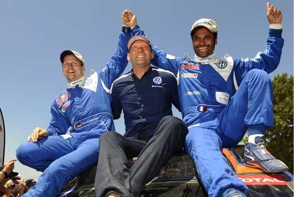 El equipo Volkswagen dominó totalmente en la categoría de...