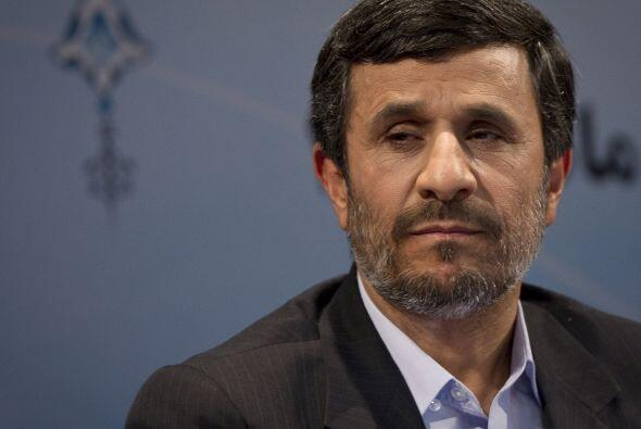 Por su lado, el gobierno de Mahmoud Ahmadinejad en Irán decidi&oa...