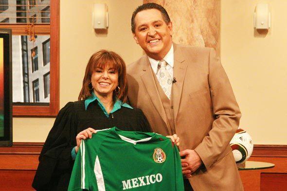 La jueza Cristina Pereyra y Pablo  mostraron su pasión  por los c...