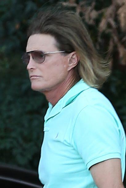"Bruce Jenner reapareció para filmar el ""Keeping Up With The Kardashians""..."