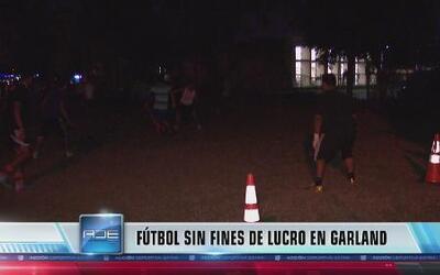 Programa comunitario de fútbol en Garland