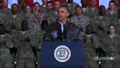 Tropas americanas en Afganistán sorprendidas por la visita de Obama