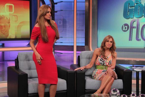 La presentadora Galilea Montijo se dio una pasadita por El Gordo y La Fl...