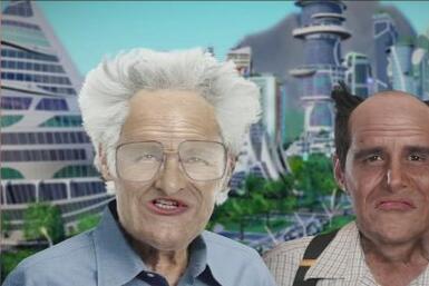 ¡Un viaje al futuro! ¿De qué hablarían Alan y Alejandro en el 2050?