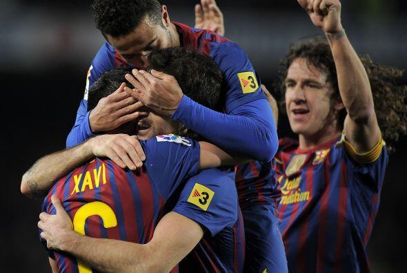 Barcelona ya acariciaba la Final de la Copa.