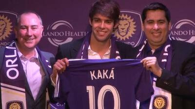 Orlando City presenta a Kaká