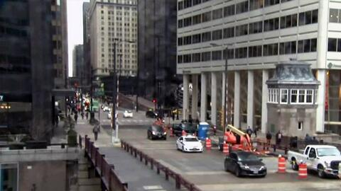'Chicago en un Minuto': realizan reapertura del puente elevadizo de la c...