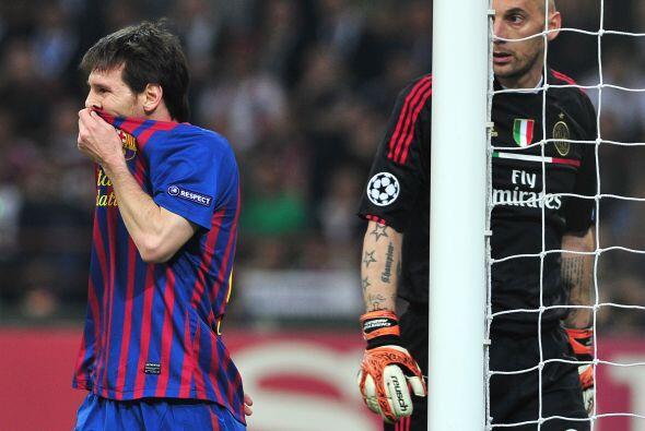 El marcador final no cambió, empate sin goles entre Milan y Barcelona, p...