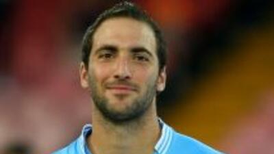 El atacante argentino ya se presentó ante su nueva afición.