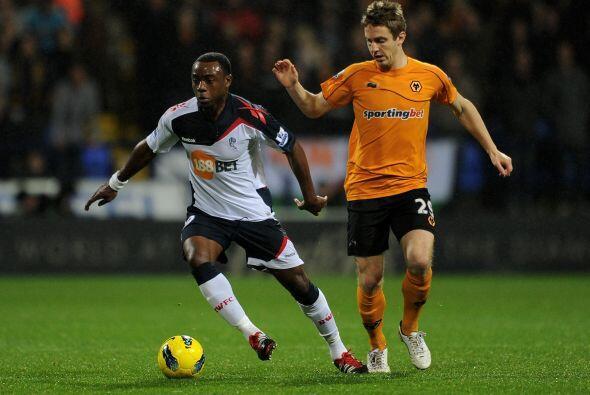 Bolton y Wolverhampton terminaron en un aburrido 1 a 1.