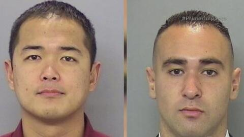 Dos oficiales fueron sorprendidos por una balacera