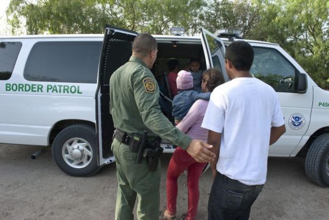 A esto: un éxodo de mujeres con niños o niños solos cruzando la frontera...