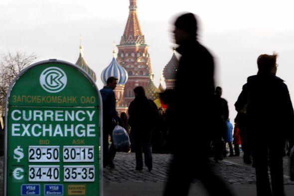 El tonelaje de metal dorado ruso tiene un valor de $46.85 mil millones....
