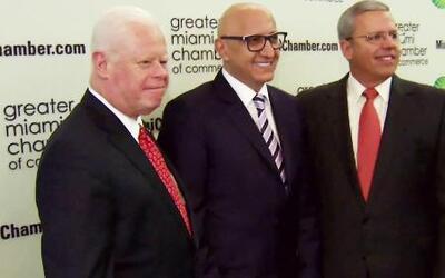 Alberto Ciurana se une a la Cámara de Comercio de Miami