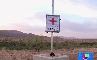 Torre en medio del desierto podría salvar la vida de migrantes