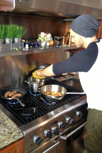 Huevos, tomate y cebolla hicieron parte de la mágica combinaci&oa...