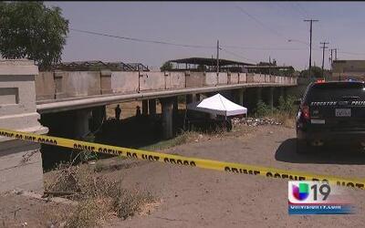 Investigan homicidio en Stockton