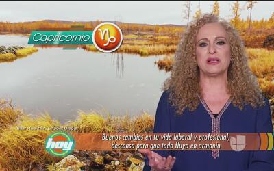 Mizada Capricornio 19 de enero de 2017