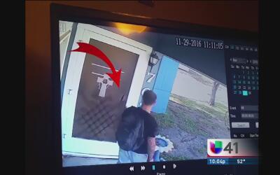 Buscan al sospechoso que entró a robar a una casa al sureste de San Anto...