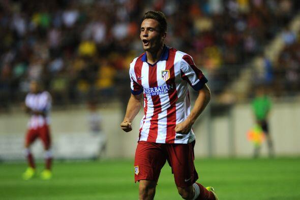 Saúl, también de buen partido, hizo el primero del Atlético luego de tom...
