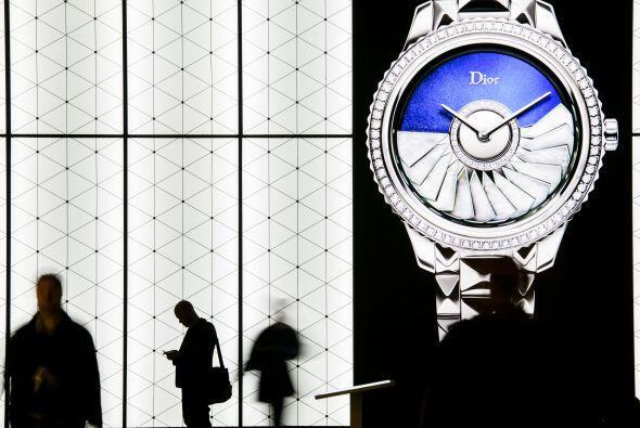 En BaselWorld se reúnen marcas de joyería y relojer&iacute...