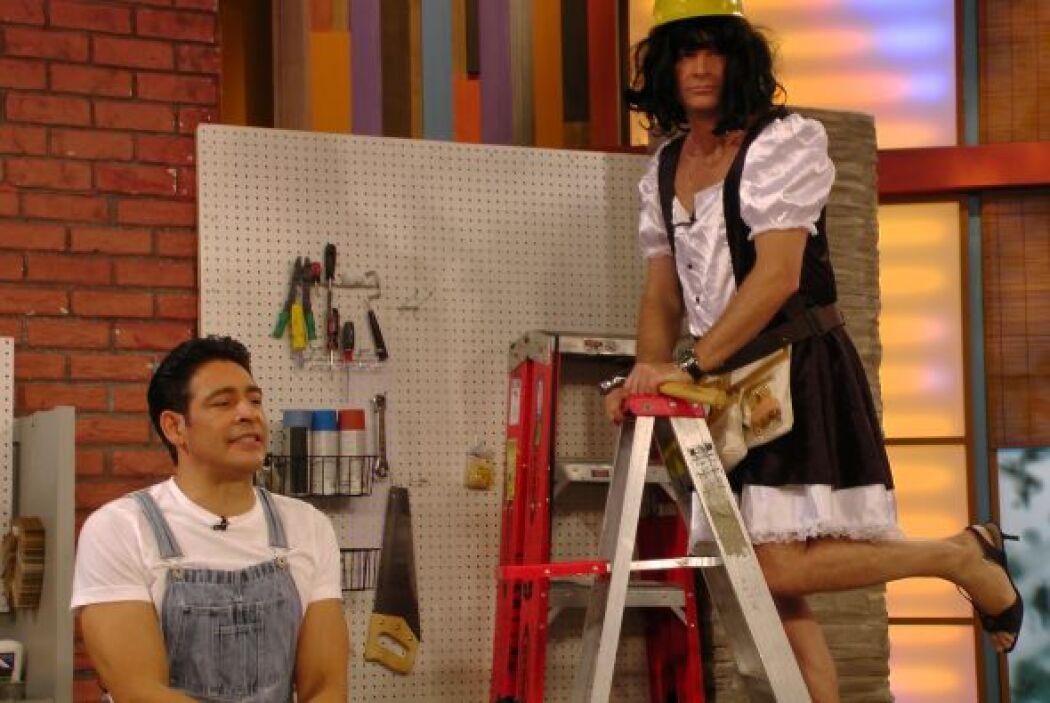 ¿Susy? Más bien es Alan disfrazado de Susana Oria.