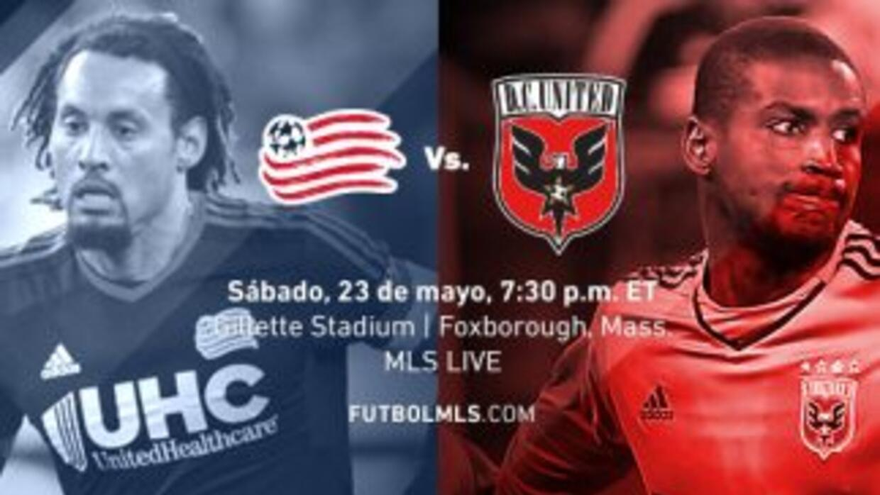 New England Revolution vs. DC United